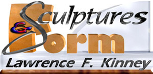 Sculptures And Form logo-titlebar (Professional Sculpture by Lawrence F. Kinney)