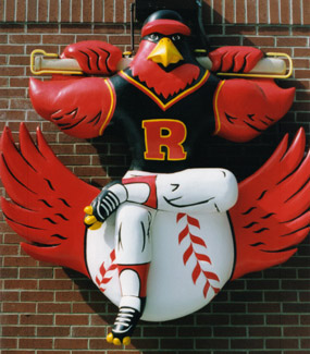 Rochester Red Wing sculpture
